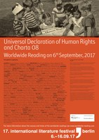 06.09.2017 - Worldwide Reading for Human Rights