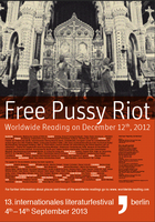12.12.2012  - Worldwide Reading for Pussy Riot
