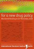 24.11.2018 Worldwide Reading for a new drug policy