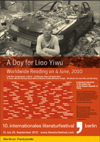 04.06.2010 - Worldwide Reading for Liao Yiwu