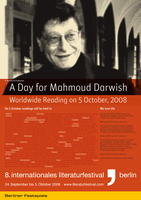 05.10.2008 - Worldwide Reading in Memory of Mahmoud Darwish