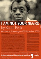 10.12.2020 Worldwide Screening: I Am Not Your Negro by Raoul Peck