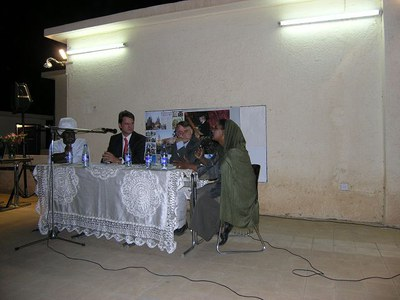 Lesung_Sudan_k-discussion about the right of freedom of expression